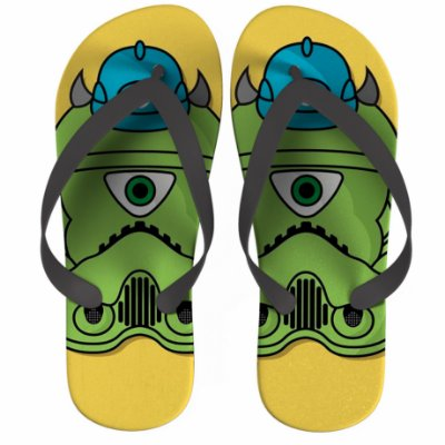 Chinelo Star Wars Monsters Inc. Mike Wazowski Strompers