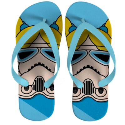 Chinelo Star Wars The Powerpuff Girls - Bubbles Strompers