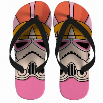 Chinelo Star Wars The Powerpuff Girls - Blossom  Strompers