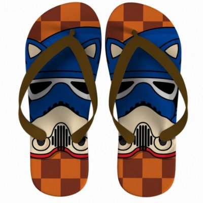 Chinelo Star Wars Sonic Strompers