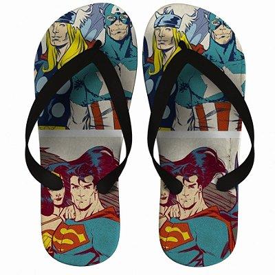 Chinelo Super Homem