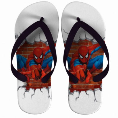 Chinelo Spider Man Flies Web