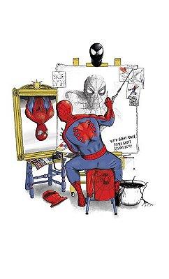 Camiseta Spiderman Self