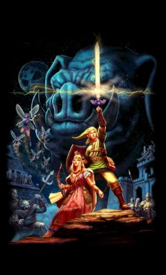 Camiseta The Legend of Zelda Castle