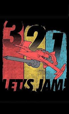 Camiseta 3,2,1 Lets Jam