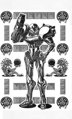 Camiseta Metroid Fusion