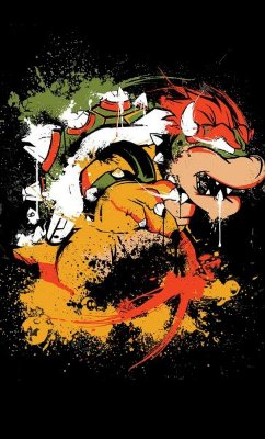 Camiseta Super Mario Bowser