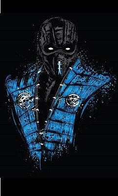 Camiseta  Sub-Zero Mortal Kombat