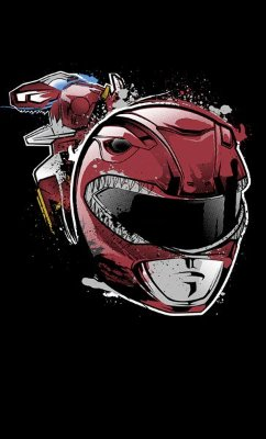 Camiseta Power Rangers Mega Force