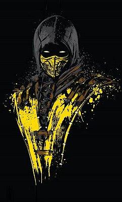 Camiseta Mortal Kombat Scorpions