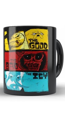 Caneca The Good The Bad The Icy