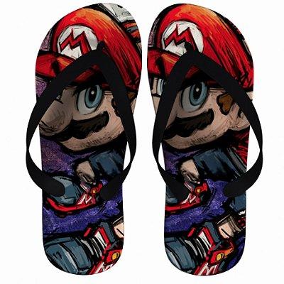 Chinelo Super Mario Bros