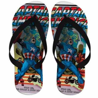 Chinelo Captain America HQ