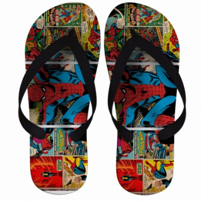 Chinelo Spider Man HQ