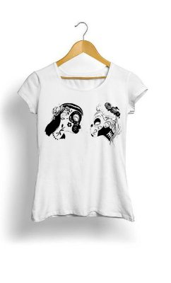 Camiseta Feminina Tropicalli Catrinas