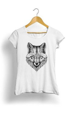 Camiseta Feminina Tropicalli FOX