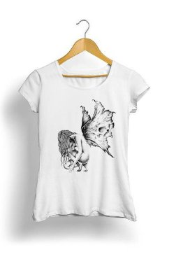 Camiseta Feminina Tropicalli  Butterfly Wings