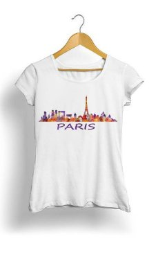Camiseta Feminina Tropicalli Paris City
