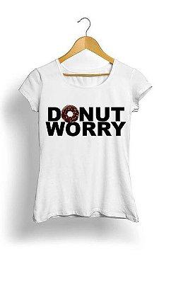 Camiseta Feminina Tropicalli Donut worry