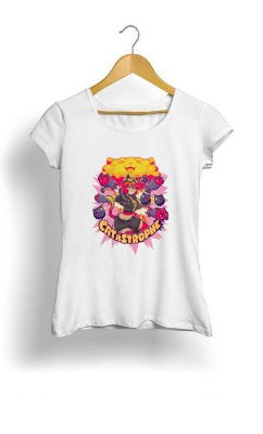 Camiseta Feminina Tropicalli The Catastrophe