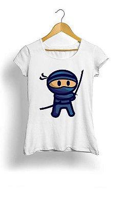 Camiseta Feminina Tropicalli That Blue Ninja