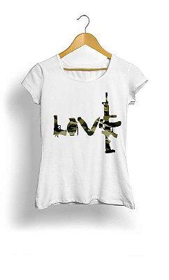 Camiseta Feminina Tropicalli Love