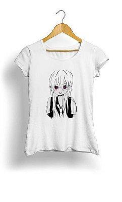 Camiseta Feminina Tropicalli Cute Anime