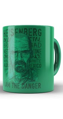 Caneca Breaking Bad, Heisenberg