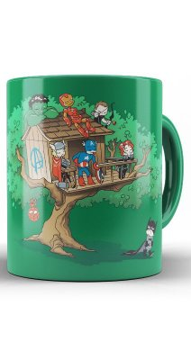 Caneca Yoda The Avengers DC comics