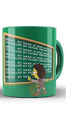 Caneca Bart Simpson
