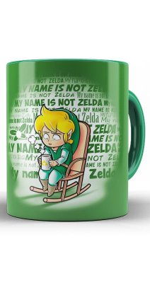 Caneca My name is not Zelda