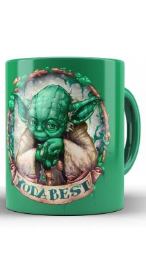 Caneca Star Wars - Yoda Best