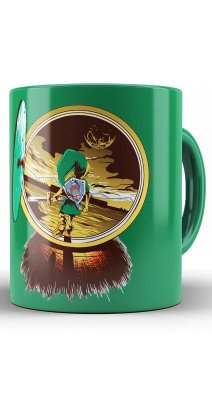 Caneca The Legend Of Zelda - Link, Majora's Mask