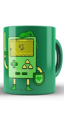 Caneca Game Boy - The Legend of Zelda