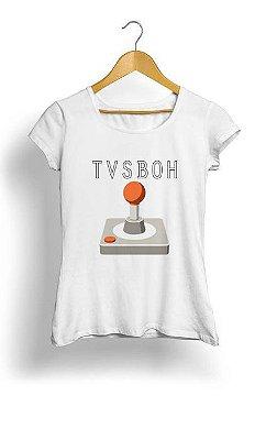 Camiseta Feminina Tropicalli Joystick