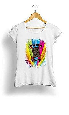 Camiseta Feminina Tropicalli Reading is Groovy!