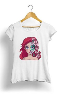 Camiseta Feminina Tropicalli Skull Series