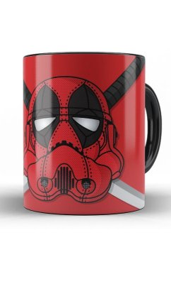 Caneca DeadPool StormTrooper