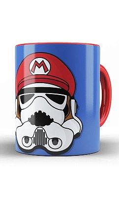Caneca Mario Bros StormTrooper