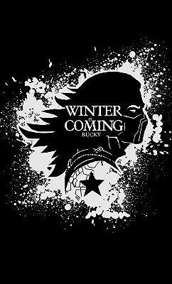 Camiseta Game of Thrones Winter Coming