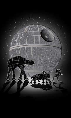Camiseta Star Wars Robots