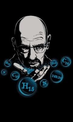 Camiseta  Heisenberg Chemical