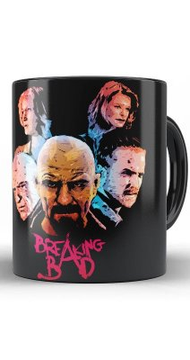 Caneca Breaking Bad The Heisenberg Face
