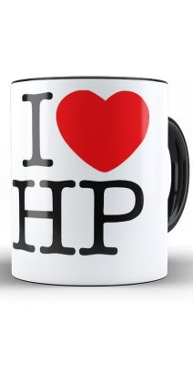 Caneca Harry Potter - I Love HP