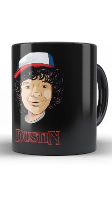 Caneca Stranger Things  Dustin