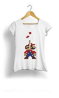 Camiseta Feminina Tropicalli Super mario