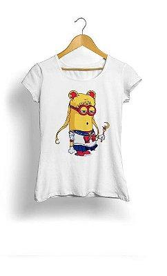 Camiseta Feminina Tropicalli Minions