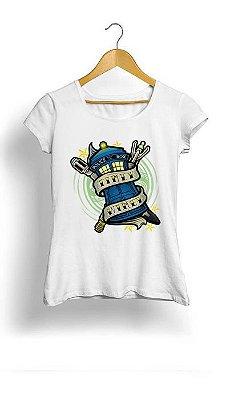 Camiseta Feminina Tropicalli Police box