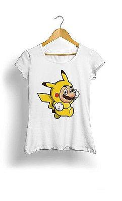 Camiseta Feminina Tropicalli Pika Suit