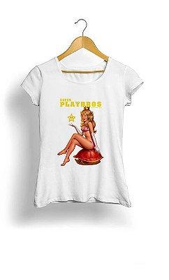 Camiseta Feminina Tropicalli Super playbros